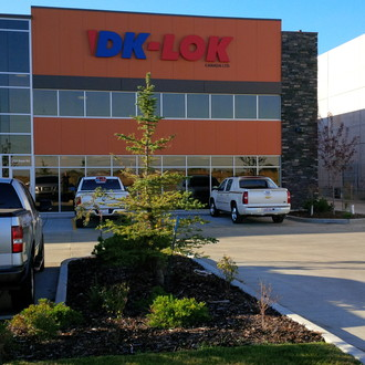 DK-Lok master distributor and head office in Edmonton, Alberta.